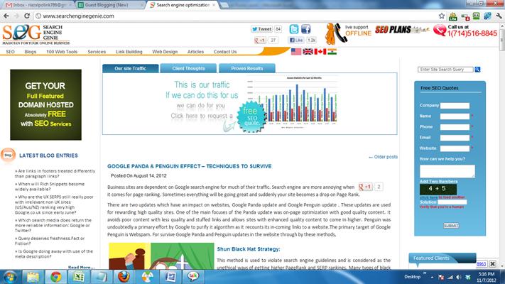 Search engine optimization SEO Company Promotion ranking