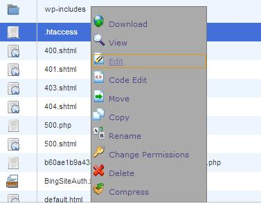 How To Create & Edit WordPress.htaccess File For Your Blog