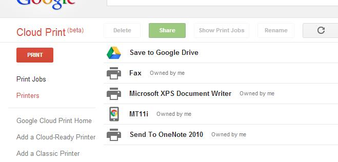 Google Cloud Print Setup easily
