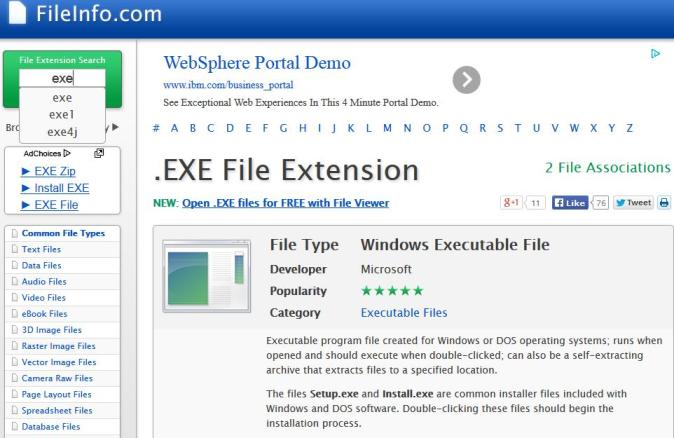 FileInfo.com - The Central File Extensions Registry