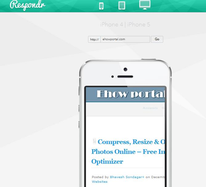 Respondr | Responsive Design Test Suite