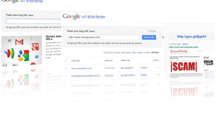 Google URL Shortening Service