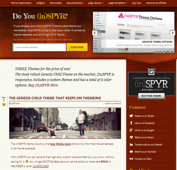 SPYR StudioPress Themes