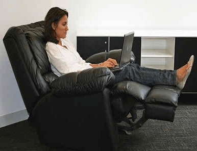 Good Sitting Position for Using Laptop