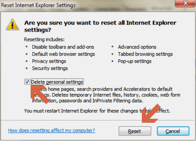 Internet Explorer Not Working Windows 7