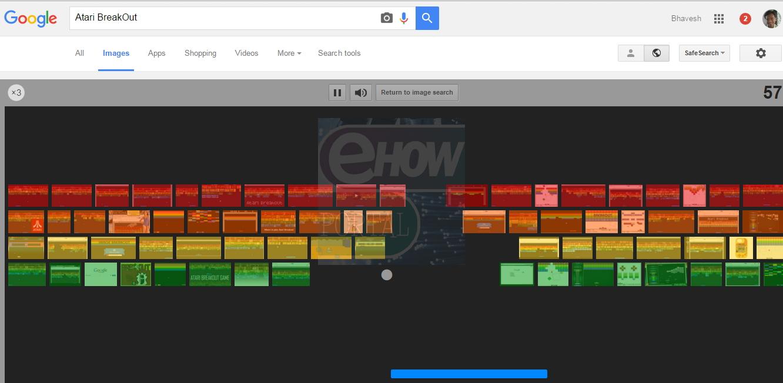 Google Barrel Roll >> Atari Break Out - Play Games on Google Images