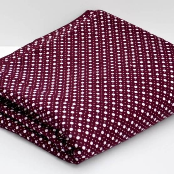 Dotted Maroon | Buy Full Voile Turban Cloth