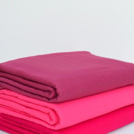 Magenta & Dark Pink Voile