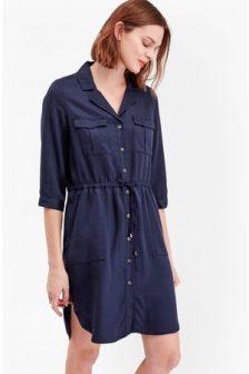 women-casual-dresses-french-connection-kruger-tencel-tie-waist-shirt-dress
