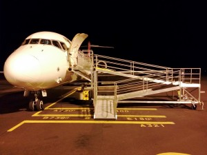 B-717 Mobile Ground Boarding Ramp