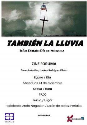 Zine-Foruma: También la lluvia