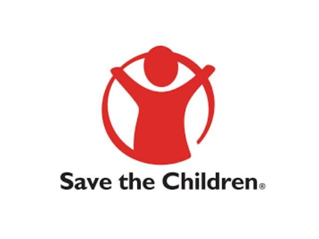 logo della marca che si chiama Save the Children