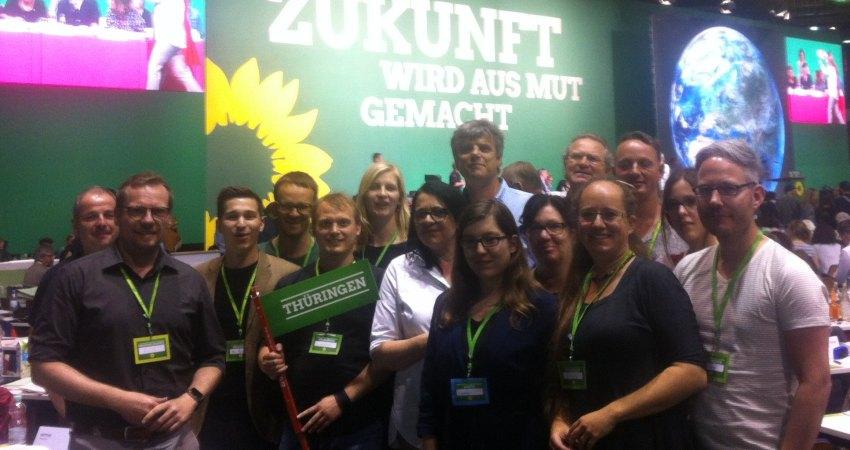 Die Thüringer Delegierten auf der BDK in Berlin 2017