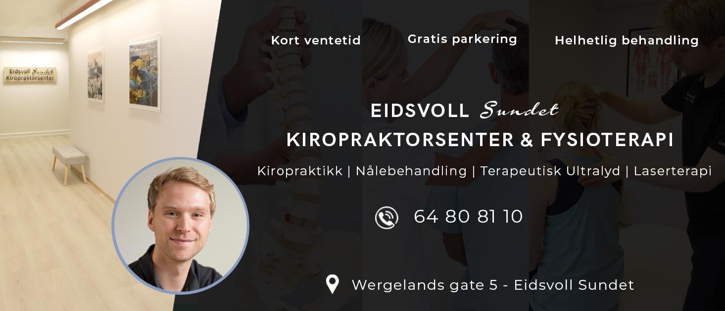 Forsidebilde for Eidsvoll Kiropraktorsenter