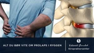 Prolaps i Ryggen (Coverbilde for artikkel med samme navn)