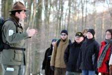 Auch zwischen den Feiertagen und an Silvester und Neujahr finden wie gewohnt alle regulären Ranger-Touren statt. Bild:  Nationalparkverwaltung