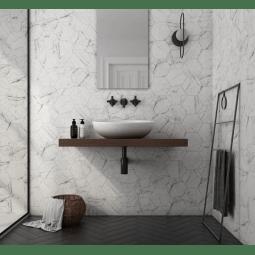 https www eiffel art construction fr revetement mural 1724 carrara carrelage hexagonal 175x20 cm imitation marbre mate html
