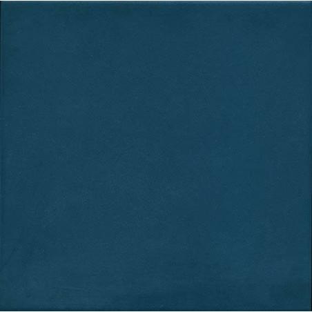 1900 azul 20 x 20 cm carrelage uni bleu fonce