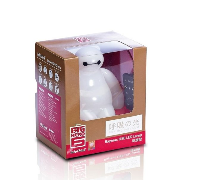 Baymax LED Lamp8