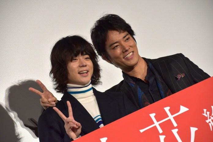 菅田将暉×桐谷健太が『火花』主題歌をサプライズ生披露!レコーディング以来の競演