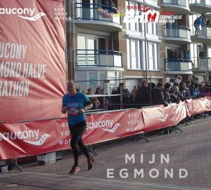 Finish Halve Marathon Egmond