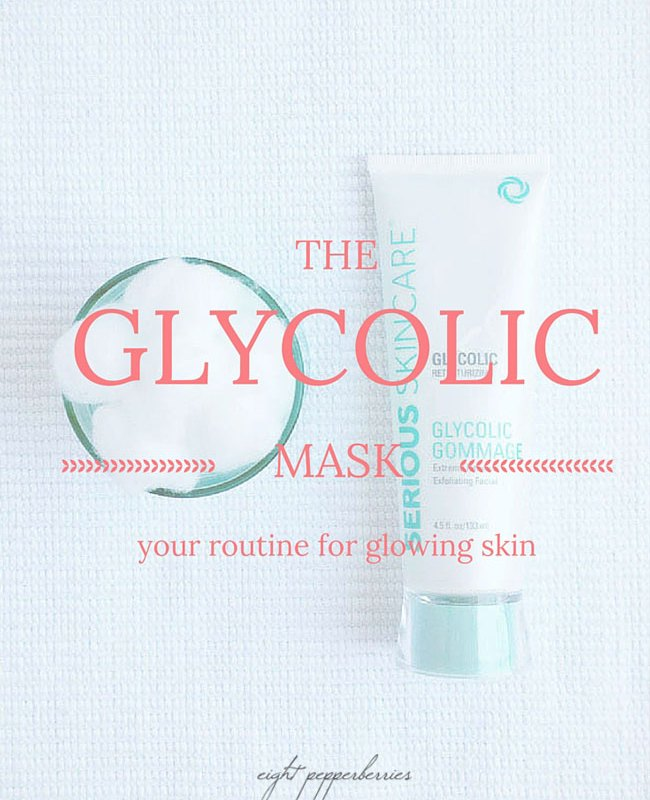 The glycolic mask: your routine for glowing skin