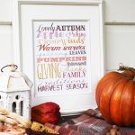 Fall Description Free Printable From Thoughts From Alice