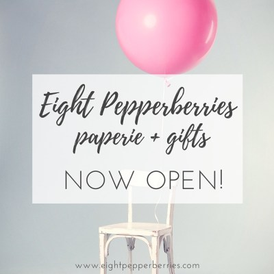 Now Open: Paperie + Gifts Shop