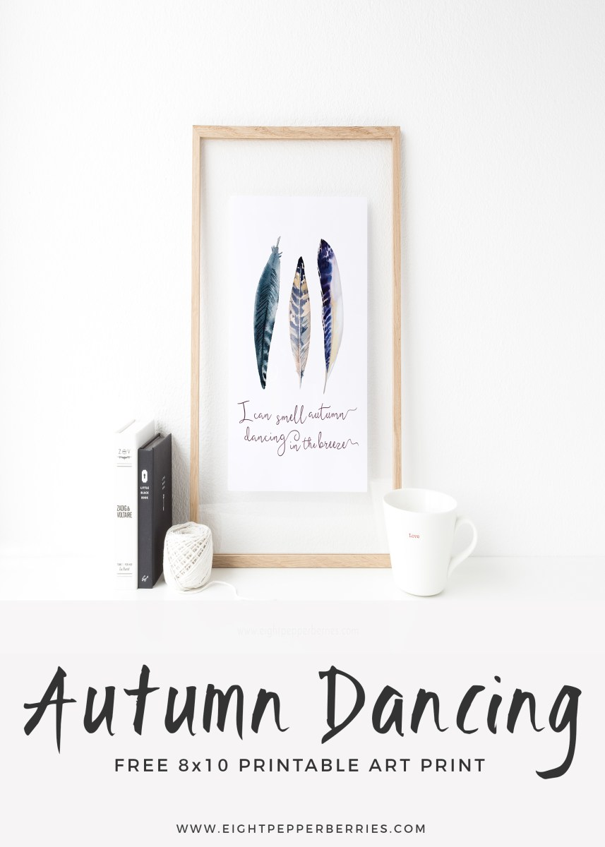 Happy First Day Of Fall [free print!]