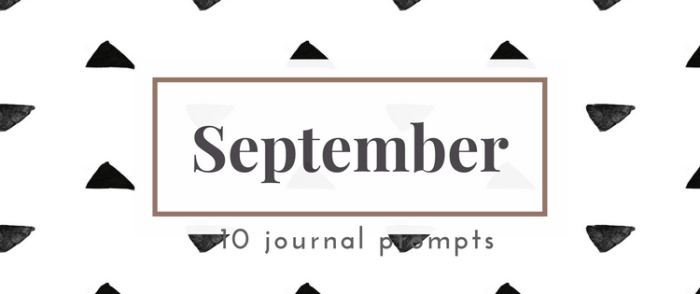 September 2016 Journal Prompts. New prompts released the beginning of each month >> Eight Pepperberries