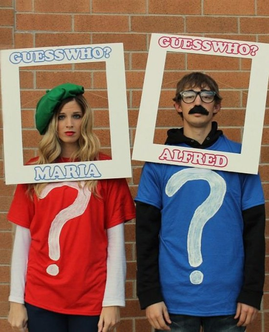 5 Last Minute Halloween Costumes: Guess Who Player >> Eight Pepperberries