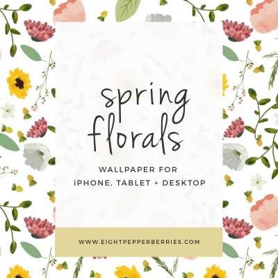 Spring Florals || Free Tech Wallpapers