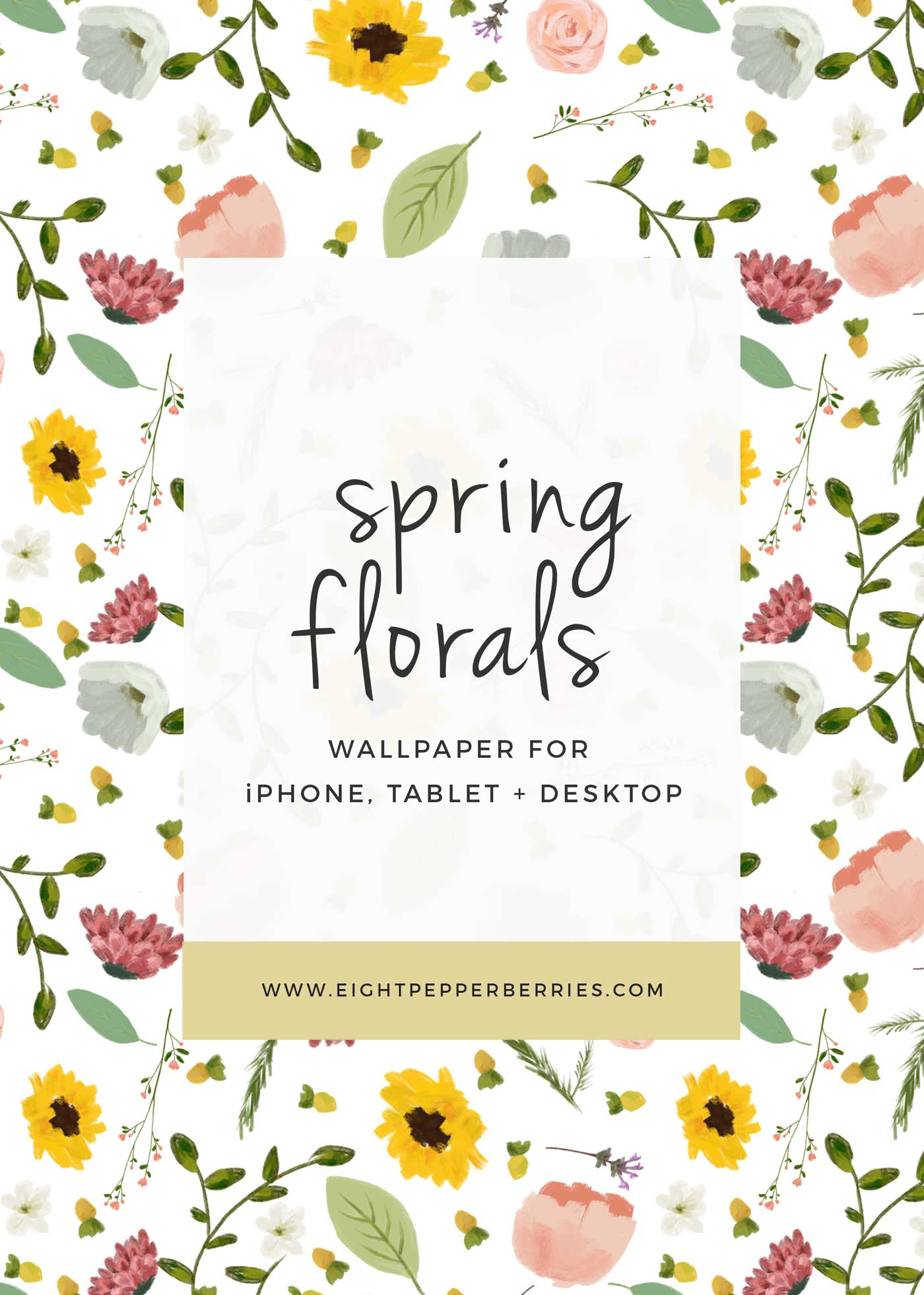 Spring Florals    FREE Wallpapers For Your Computer And Phone >> Eight Pepperberries