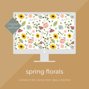 Spring Florals || FREE Wallpapers For Your Computer And Phone >> Eight Pepperberries