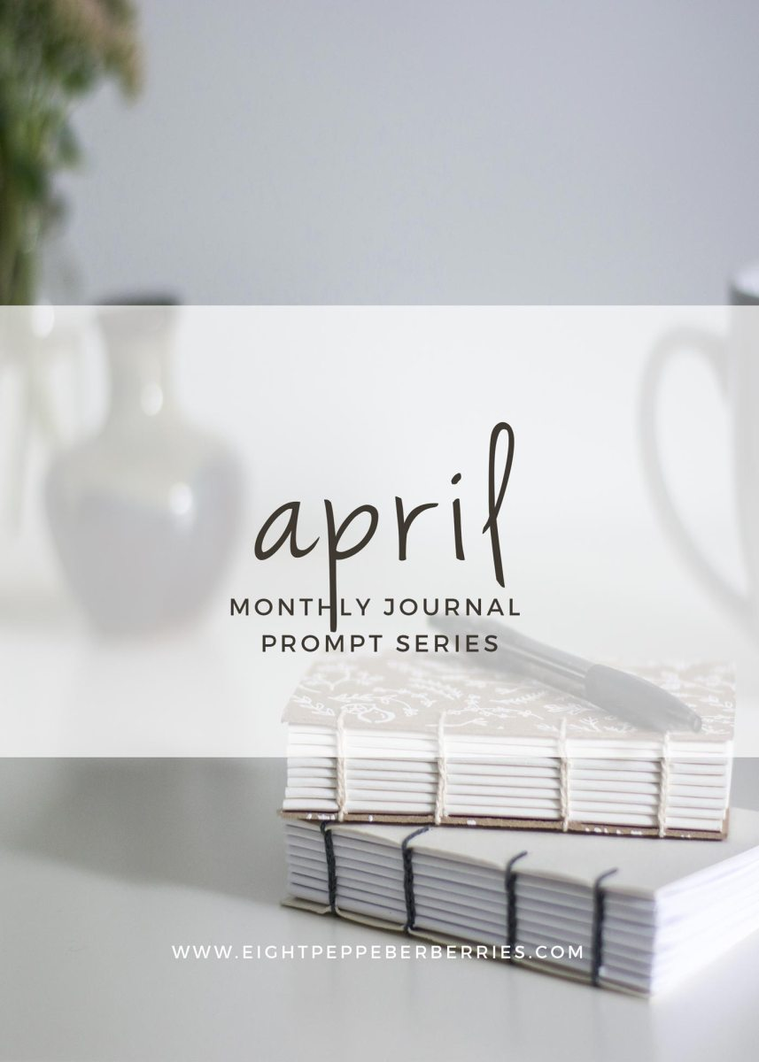 Journal Prompts April 2017 Edition