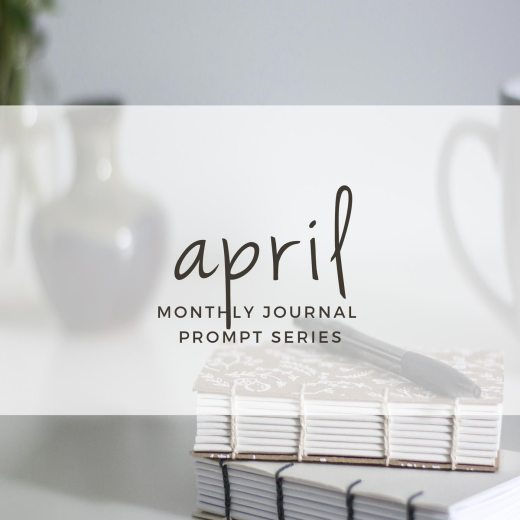 April 2017 Journal Prompts. New prompts released the beginning of each month >> Eight Pepperberries