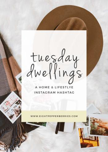 9 Favorites from Tuesday Dwellings, an Instagram hashtag to showcase how you make your house your home. Use #TuedayDwellings to showcase your home decor style, lifestyle, tutorials and more! >> Eight Pepperberries