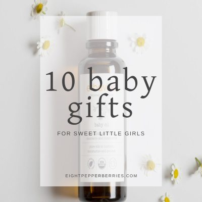 10 Girl Baby Shower Gifts (that are full of sweetness!)