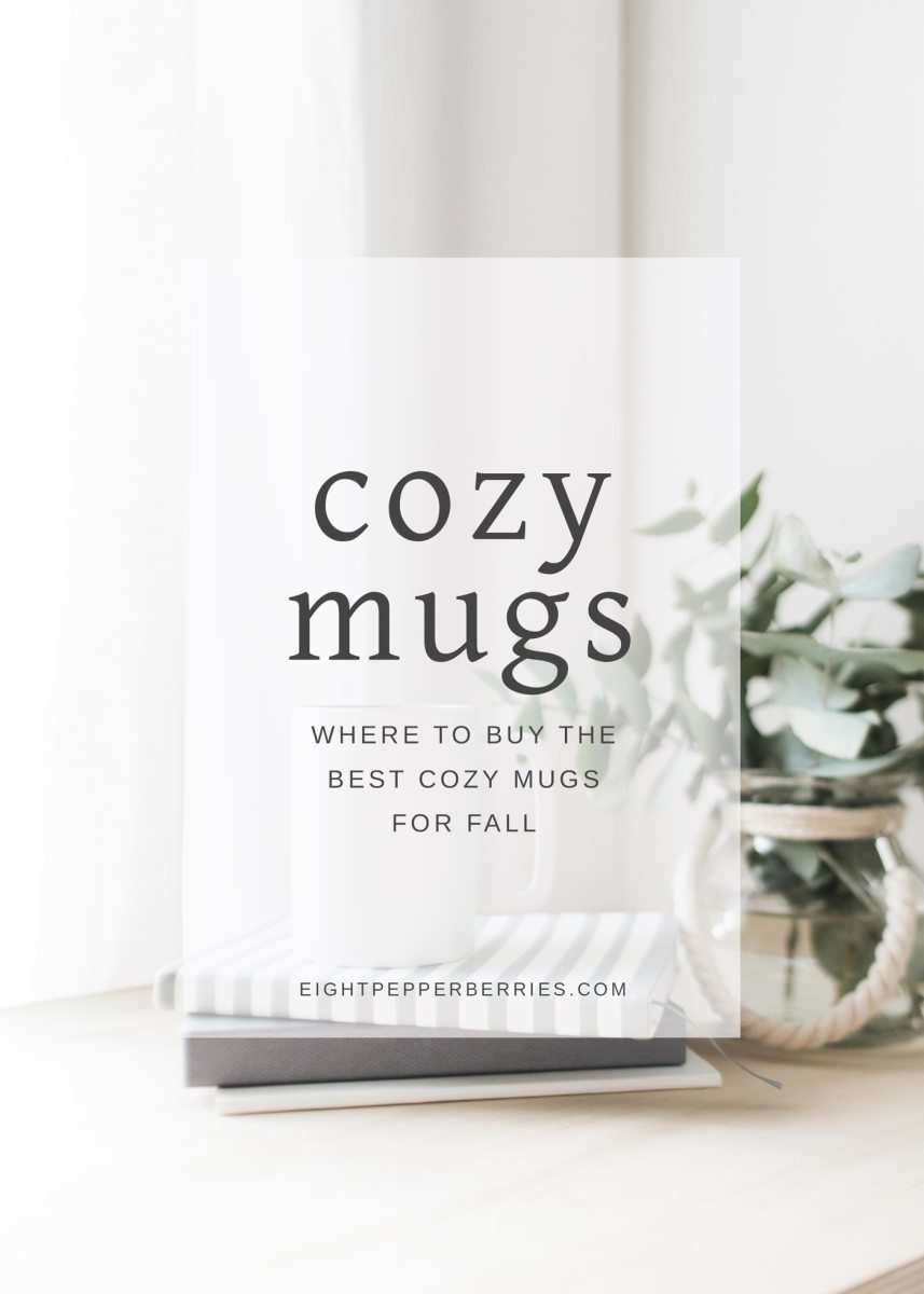 The Best Cozy Mugs For Fall + A FREE Fall Art Print