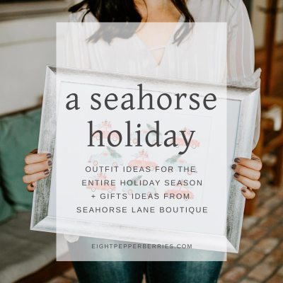 Spend The Holidays With Seahorse Lane Boutique