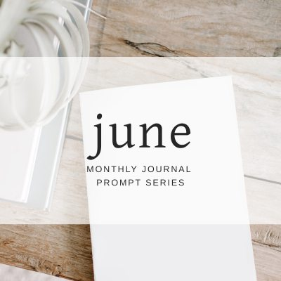 Journal Prompts June 2018 Edition