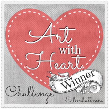 Art with Heart April Showers Challenge Winner and Top 3!