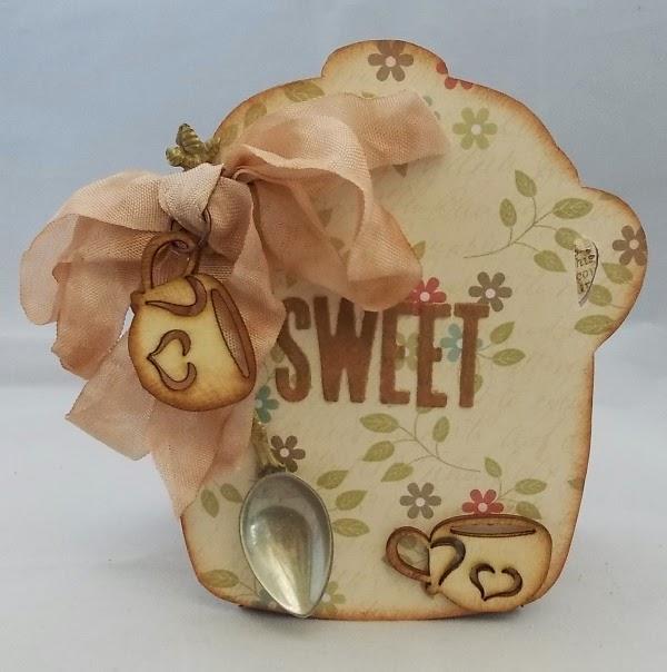Vintage Kitchen Sneak Peek : Sweet Cookie Jar by Tracy Evans| Eileenhull.com