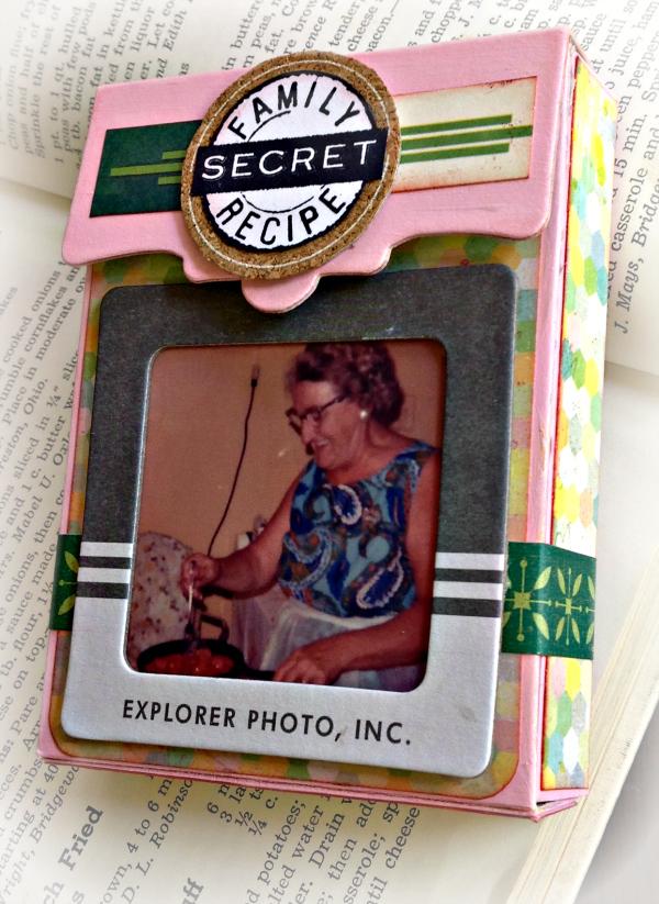 Vintage Kitchen Sneak Peek : Secret Family Recipe Box by Michelle Zerull | Eileenhull.com