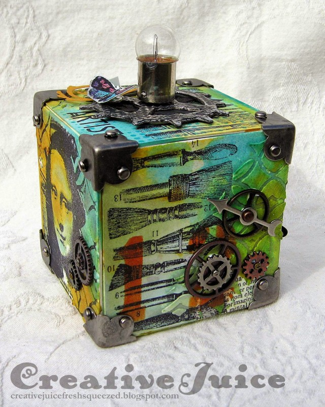 Artful Artist Trading Block by Lisa Hoel | Eileenhull.com