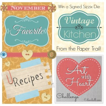 Art with Heart Challenge November : Favorite Recipes