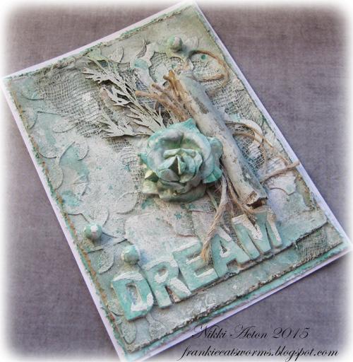Winter Dreams Card by Nikki Acton