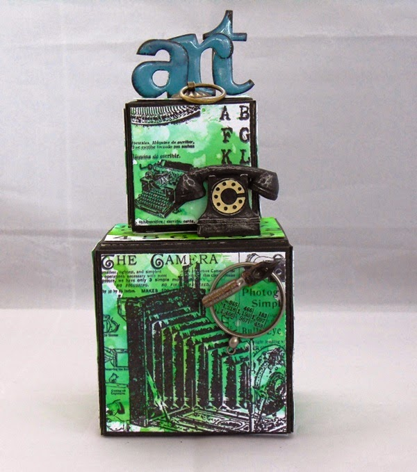 Stampendous Vintage Press ATB by Tracy Evans
