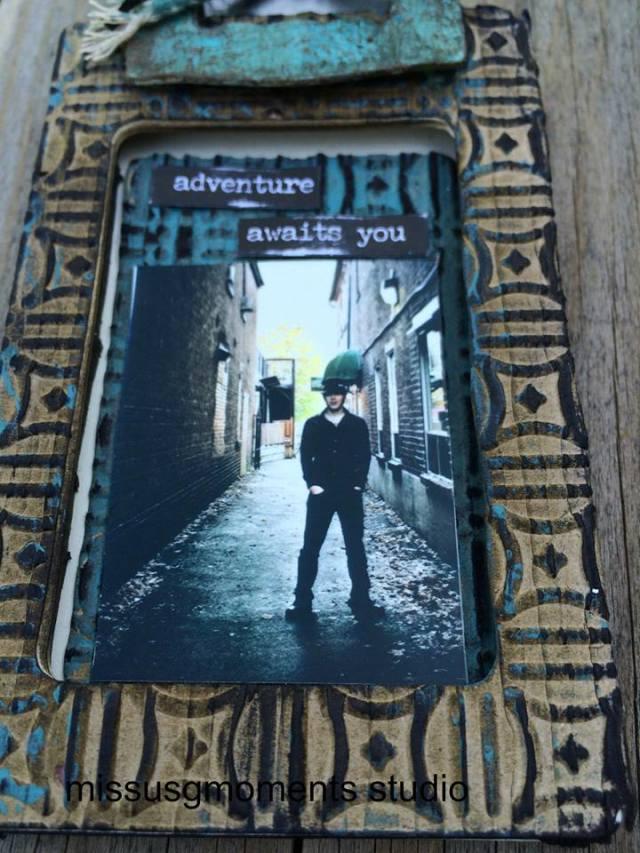 Sizzix Travel Tag Frame by Diana Hetherington