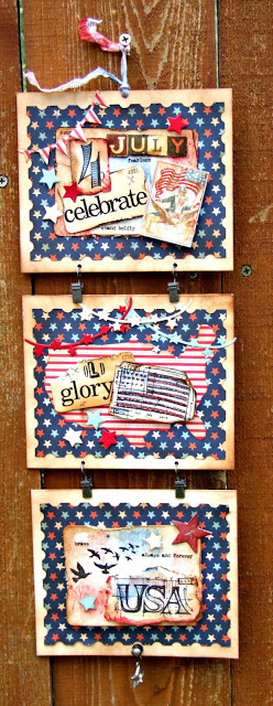Sizzix 4th of July Wall Art by Donna Budzynski